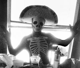 Halloween kostymer Morph - Glow Skeleton
