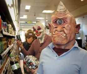 Maschere per Halloween - Cyclops