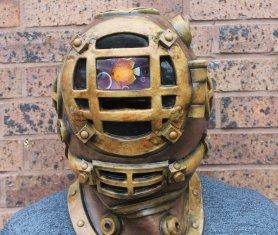 La maschera di Halloween - subacqueo