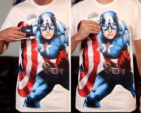 Капітан Америка - морфська сорочка