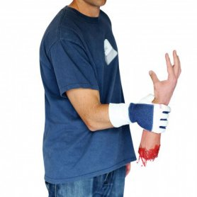 Halloween kostym - avskuren hand