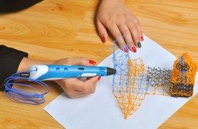 3D térhatású tollal (kék)