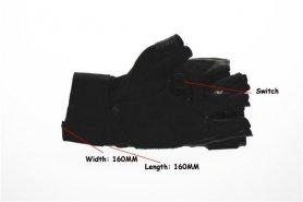 Rękawice laserowe - 4x Red