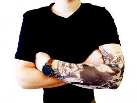 Рукав татуювання - ангел анархії