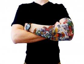 Tattoo rokav - Kraken