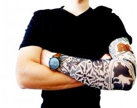 Tattoo rokav - AC / DC