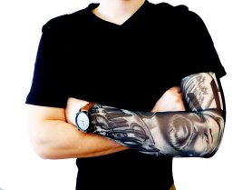 Tattoo sleeve - God