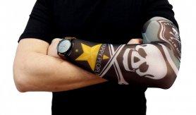 Tattoo rokav - Pirat