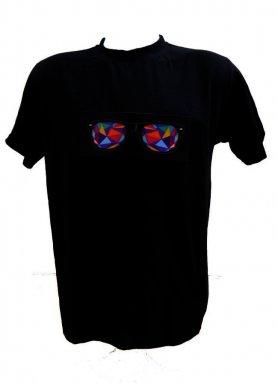 Partie T-shirt - lunettes Kaleidoscope