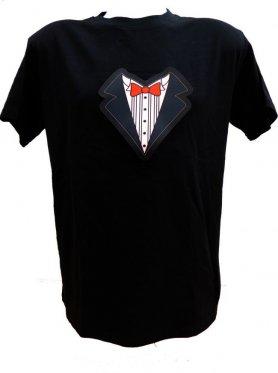 T-shirt LED Party - Papillon