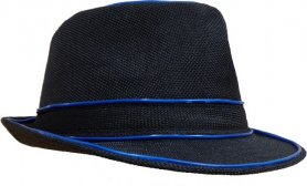 नियॉन टोपी - नीला