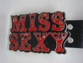 Fivela de cinto - Miss Sexy