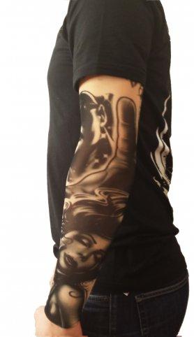 Рукави татуювання - мексиканська гордість