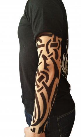 Рукави татуювання - повний орнамент