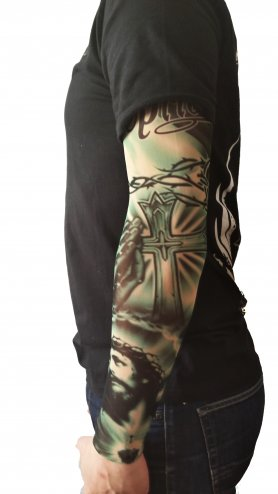 Tattoo rokavi - Jezusova molitev