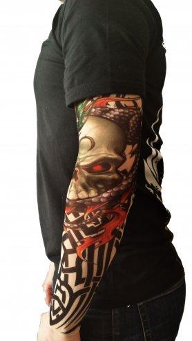 Рукави татуювання - Диявол