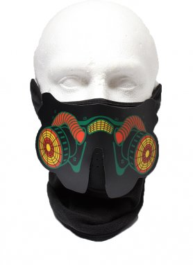 Rave Mask Respirator - Sensible au son