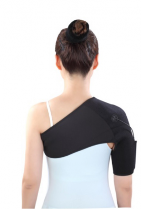 Shoulder heating pad for right shoulder