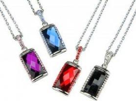 USB Crystal - Purple