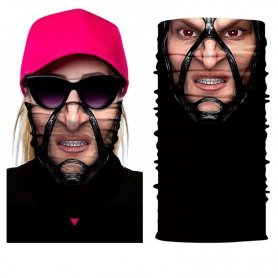 Cagoule protectrice faciale avec impression 3D - MUTANT GIRL