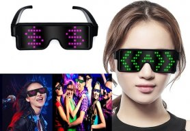 LED party glasses with animations