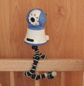 Tripod holder - for video baby monitors