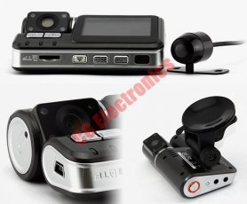 Car backup dvr with extra reversing camera - 4x IR LED