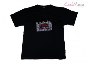Led t-shirt equalizer - Turntables