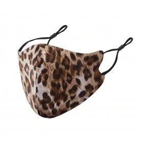 Leopard maska za obraz (100% poliester) za ženske