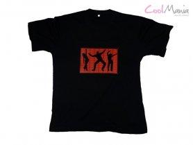 Son T-shirt activé - Danse rouge