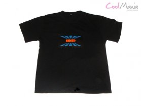 Camiseta led - Disco