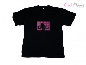 Lumideas Camisetas LED - Girl MP3