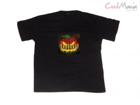 Camiseta led - Hallowen