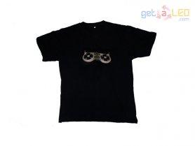 LED Equalizer t-shirts - Mélanger la musique