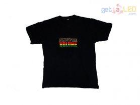 LED Equalizer T-shirts - Pump Up the Volume