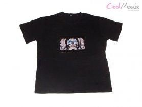 Led t-shirt - Skull