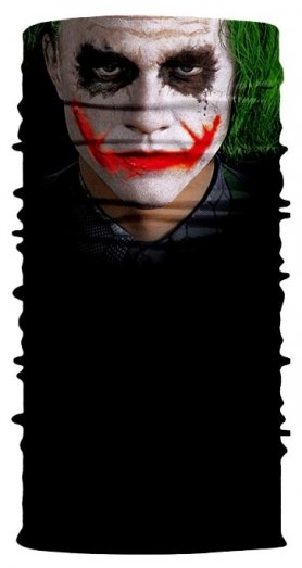 Bufanda multifuncional cabeza y rostro JOKER