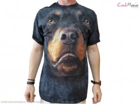 Animal face t-shirt - Rottweiler