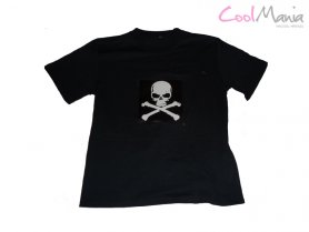 Chemises électroluminescentes - Pirates