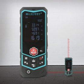 Lézer digitális távolságmérő Bluetooth és IP65