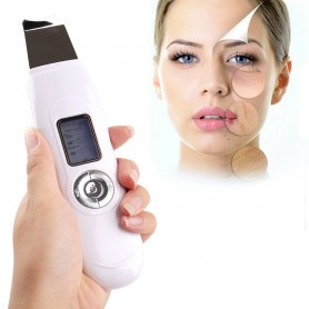 LCD Ultrasonic exfoliator with EMS ion therapy