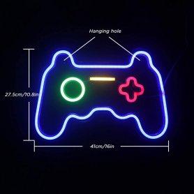Neonové svetelné logo - GAMEPAD