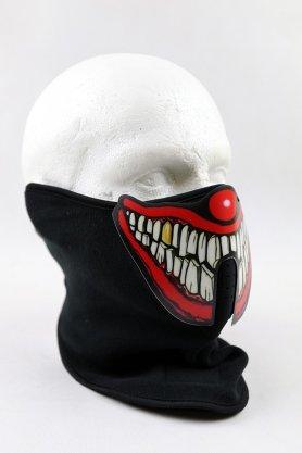 Máscara de carnaval LED sensible al sonido - payaso