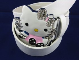 Belt buckle - Hello Kitty