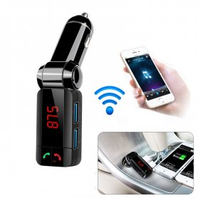 Innovative FM transmitter with Bluetooth handsfree + 2x USB charger and MP3/WMA player