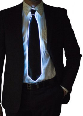 Lighting ties - White