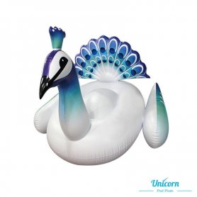 Inflatable for adults - White peacock