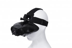 Binoculars - night vision up to 100m/400m daylight with headband + Micro SD