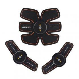 6 pack - Stimulateur portable EMS rechargeable avec 4 modes