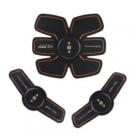 6 pack - Stimulator portabil reîncărcabil EMS cu 4 moduri